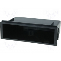 [Universal radio box 2DIN 185x115x103mm 105 depth]