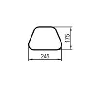 711 mm (obvod)
